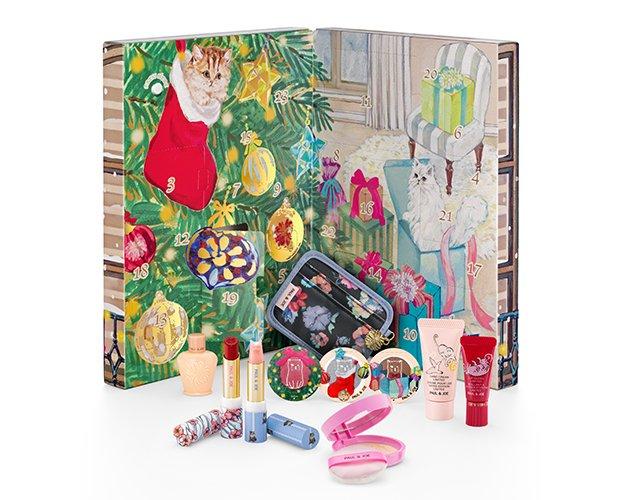 クリスマスコフレ2018限定コスメPAUL&JOEBEAUTEポールアンドジョーボーテ予約日と発売日やアイテム詳細とネット通販購入情報!メイクアップコレクション2018