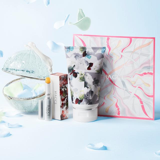 クリスマスコフレ2018限定コスメHACCIハッチ予約日と発売日やアイテム詳細とネット通販購入情報!碧い薔薇の記憶