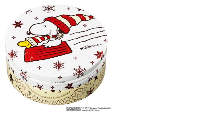 スチームクリーム2018年11月デザイン、クリスマススヌーピー