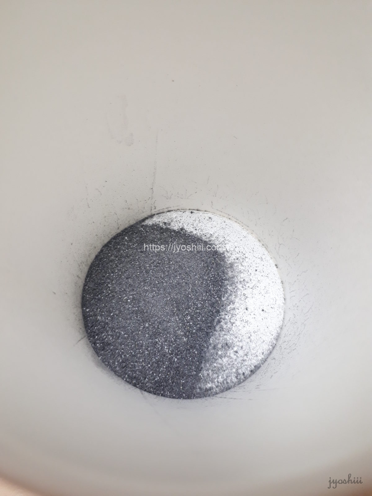 KUROJIRU黒汁の粉末を溶かす前