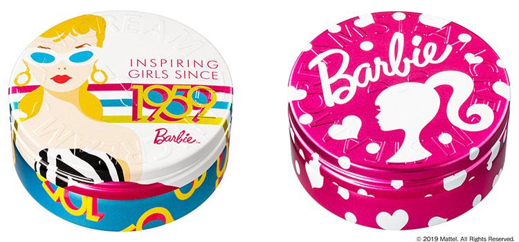 スチームクリーム2019年3月新デザイン新発売(Barbieバービー)