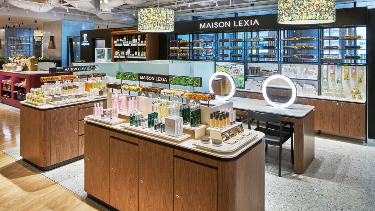 オラクル化粧品の取扱店舗メゾンレクシア