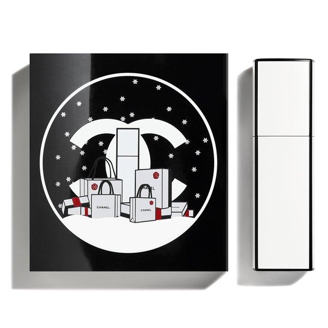2019年クリスマスコフレシャネルのシャネル No5 ロー オードゥ トワレット ミニ ツィスト&スプレイ