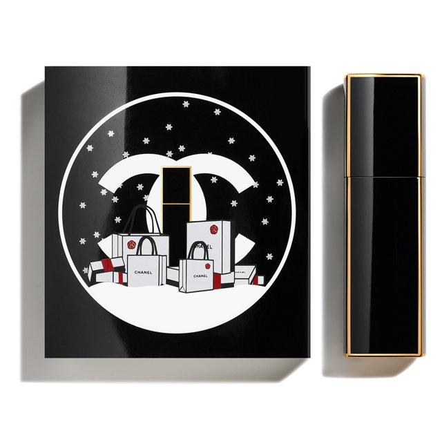 2019年クリスマスコフレシャネルのシャネル No5 オードゥ パルファム ミニ ツィスト&スプレイ